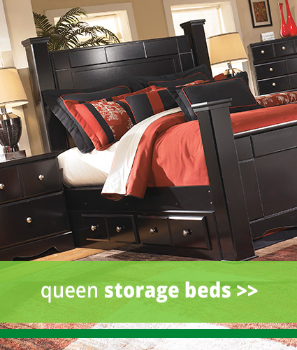 Queen Storage Beds