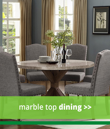 Marble Top Dining