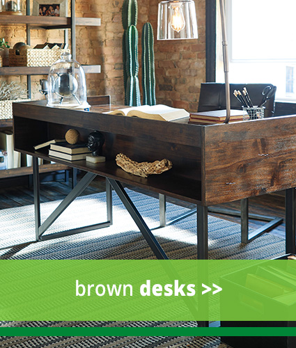 Brown Desks
